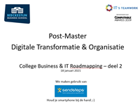 Post-Master College Business & IT Roadmapping